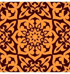 Bold geometric muslim seamless pattern vector image vector image