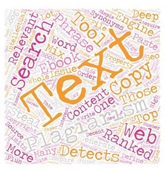Steal this Ebook text background wordcloud concept vector image