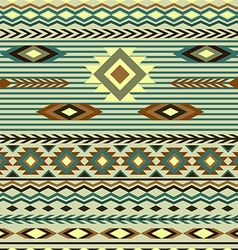 seamless pattern in ethnic style of the American I vector image vector image