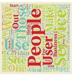 other viral techniques 6 text background wordcloud vector image