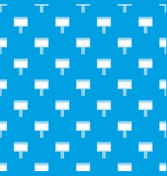 board for statistics pattern seamless blue vector image