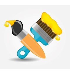 Drawing and Writing tools icon vector image