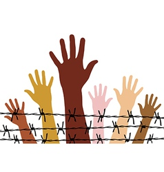 Human rights vector image vector image