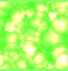 intersecting bright lime circles and balls for vector image