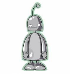 robot man vector image