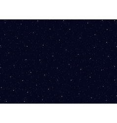 Space stars background of the night sky vector