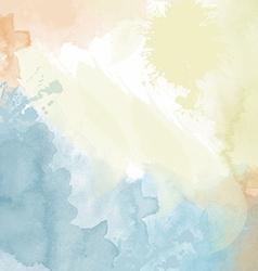 Pastel watercolor background vector