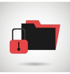 security data design vector image
