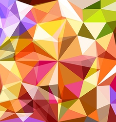 Abstract background of different color figures vector image
