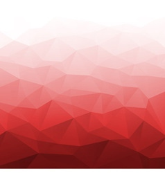 Abstract gradient red geometric background vector