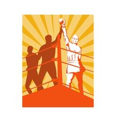 Boxer champion vector