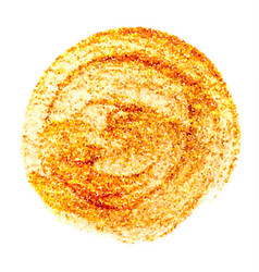 circle gold texture abstract glittering vector image