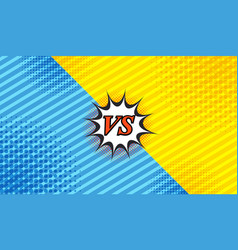 comic duel background vector image