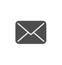 envelope icon and mail concept vector image