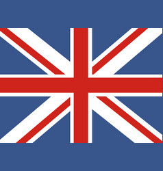 flag of great britain official uk vector image