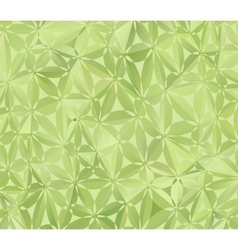 Green Floral Pattern vector image