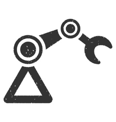 Manipulator Icon Rubber Stamp vector