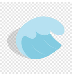 sea or ocean wave isometric icon vector image
