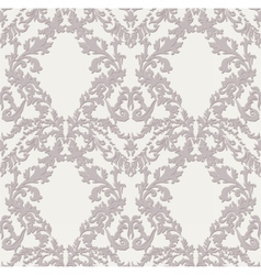 Vintage Baroque Damask pattern vector