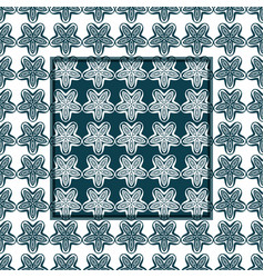 Ornamental patterns set vector