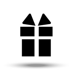 icon depicting the silhouette of a celebratory vector image