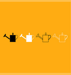 watering can it is white icon vector image vector image