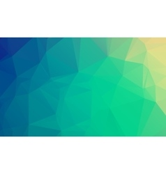 Abstract natural polygonal background Smooth vector