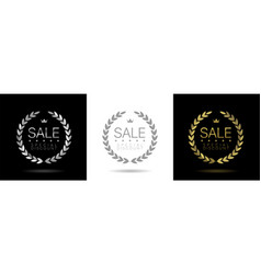 clearance sale icon vector image