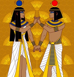 Egyptian Couple vector