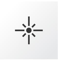 Flare icon symbol premium quality isolated vector