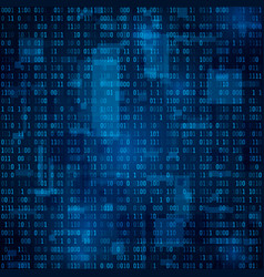 technology abstract background binary code vector image