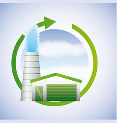 biofuel ecology alternative vector image
