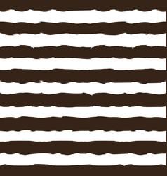 black and white monochrome horizontal brush vector image