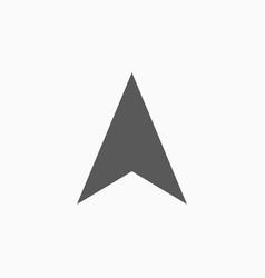 gps arrow icon vector image