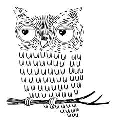 Owl zentanglezentangle owl zentangle patterns vector