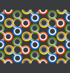 pattern stylish abstract lines swirl vector image
