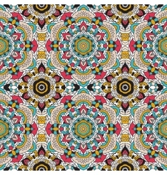 seamless pattern national decorative vector image