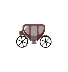 Small carriage or color vector