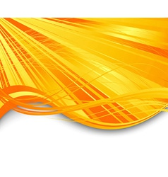 Sunburst ray abstract banner vector