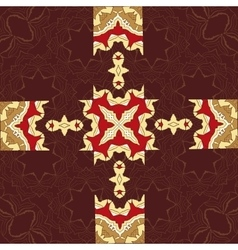 Seamless Asian pattern Vintage decorative vector image vector image