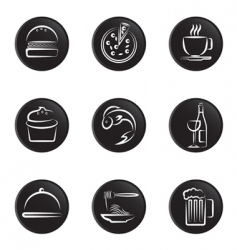 foods icon vector image