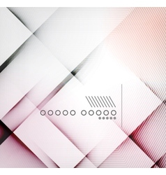 Geometric diamond shape abstract background vector image vector image