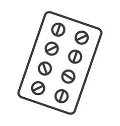 Medical healthcare theme design icon vector image