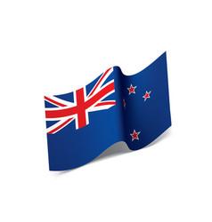 New zealand flag vector