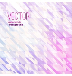 Abstract pink background for design vector image vector image