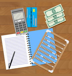 Audit home budget vector