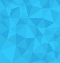 Blue background abstract polygon triangle style vector