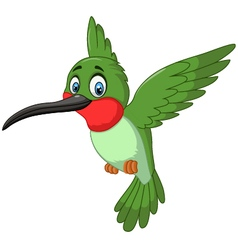 Cartoon cute small bird vector