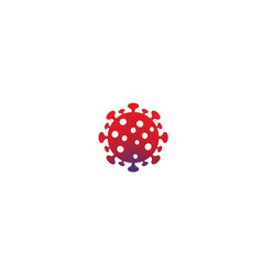 Creative covid-19 coronavirus logo symbol vector