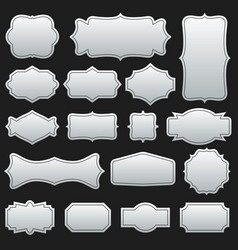 creative set of decorative vector image